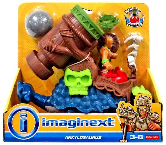 Fisher Price Imaginext Ankylosaurus Action Figure