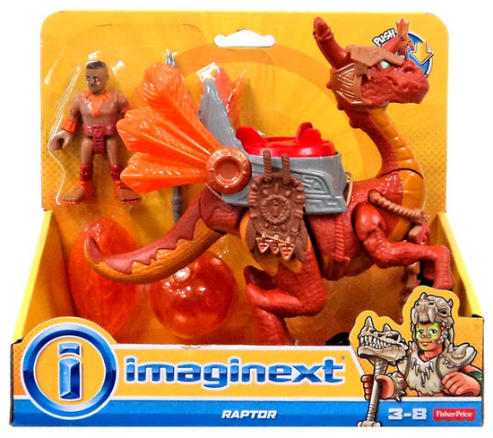 Fisher Price Imaginext Raptor Action Figure