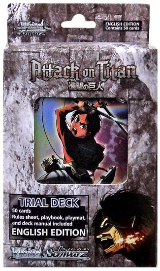 Weiss Schwarz Attack on Titan Trial Deck [English Edition]