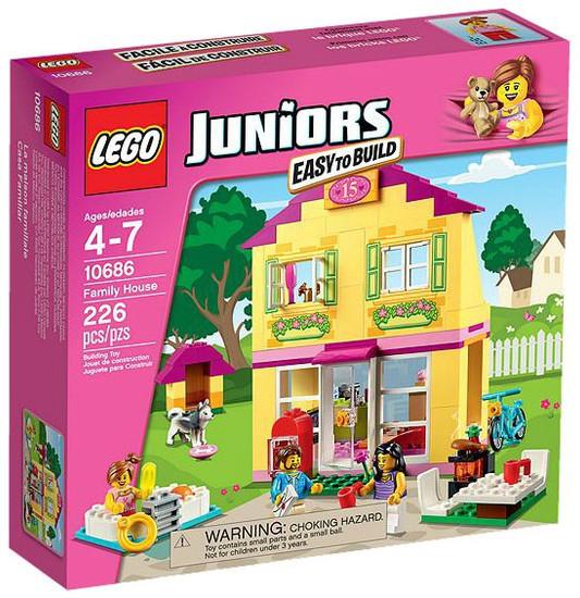 LEGO Juniors Family House Set #10686