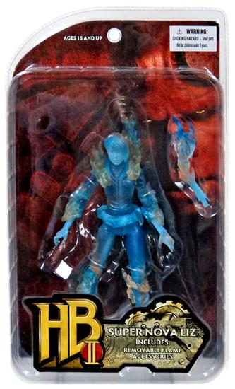 Hellboy 2 The Golden Army Series 1 Super Nova Liz Action Figure [Translucent Blue]