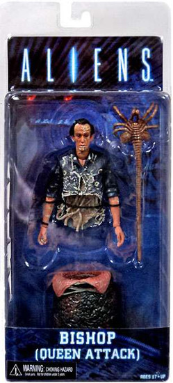 NECA Aliens Series 5 Bisected Bishop with Egg & Facehugger Action Figure