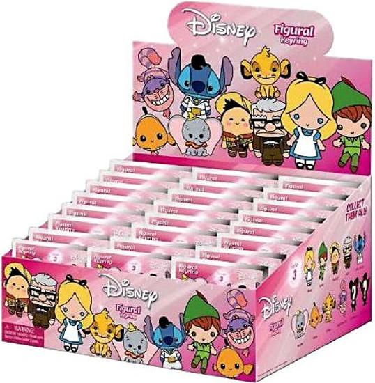3D Figural Keyring Disney Series 3 Mystery Box [24 Packs]