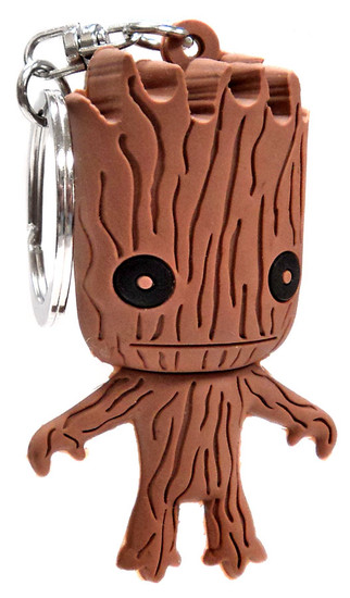 Marvel Guardians of the Galaxy 3D Figural Keychains Groot Keyring