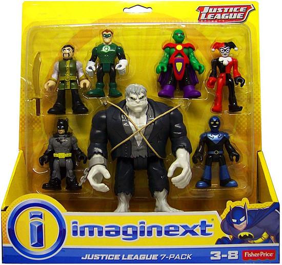 Fisher Price DC Imaginext Justice League 7-Pack Exclusive 3-Inch Mini Figure Set [Solomon Grundy]