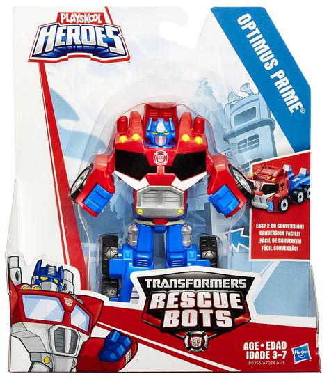 Transformers Playskool Heroes Rescue Bots Optimus Prime Action Figure [Rescan, 2015]