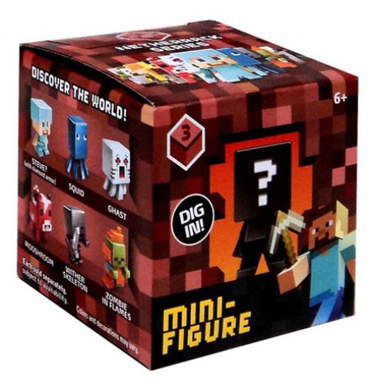 Minecraft Netherrack Series 3 Mystery Pack [1 RANDOM Figure]