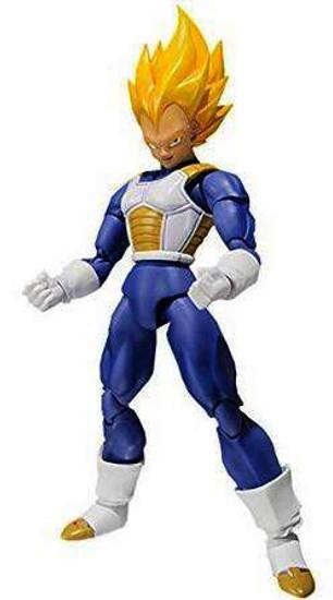 Dragon Ball Z S.H. Figuarts Super Saiyan Vegeta Action Figure [Premium Color Edition]