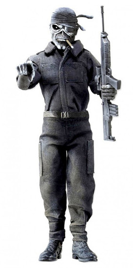 NECA Iron Maiden Piece of Mind Eddie Clothed Action Figure [2 Minutes to Midnight]