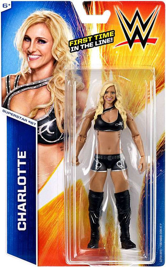 WWE Wrestling Series 55 Charlotte Flair Action Figure #67