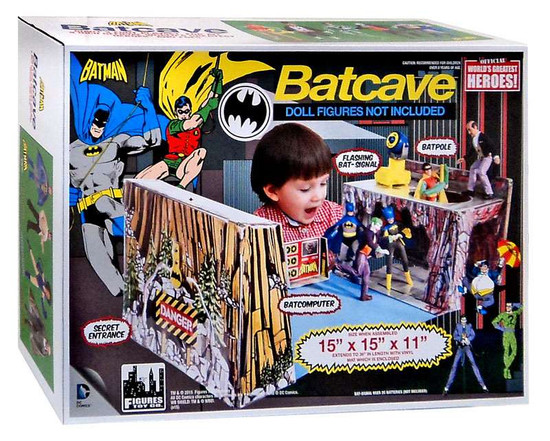 Batman 1966 TV Series Retro Batcave 3' Playset