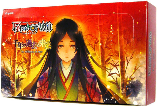 Force of Will Grimm Cluster Set 4 The Millennia of Ages Booster Box [36 Packs]
