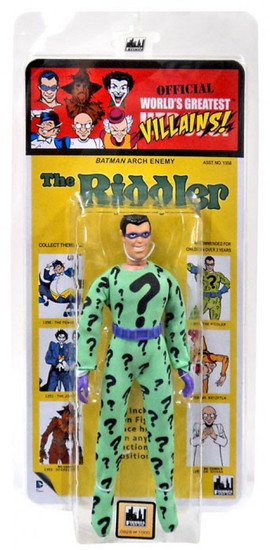 DC World's Greatest Heroes! Kresge Retro Style Series 1 The Riddler Retro Action Figure