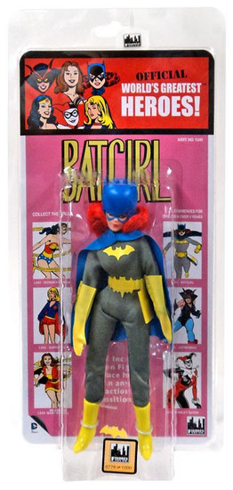 DC World's Greatest Heroes! Kresge Retro Style Series 1 Batgirl Retro Action Figure