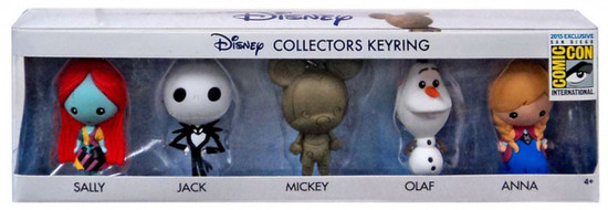 3D Figural Keyring Disney Exclusive Collector 5-Pack