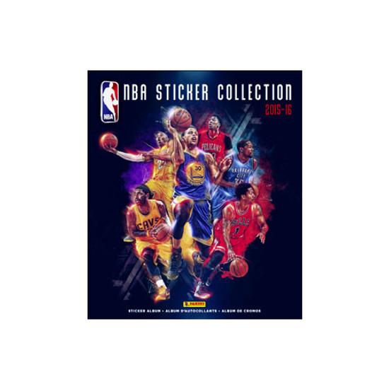 NBA Basketball Panini 2015-16 Basketball Sticker Collection Album