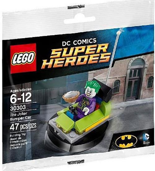 LEGO DC Universe Super Heroes The Joker Bumper Car Mini Set #30303 [Bagged]
