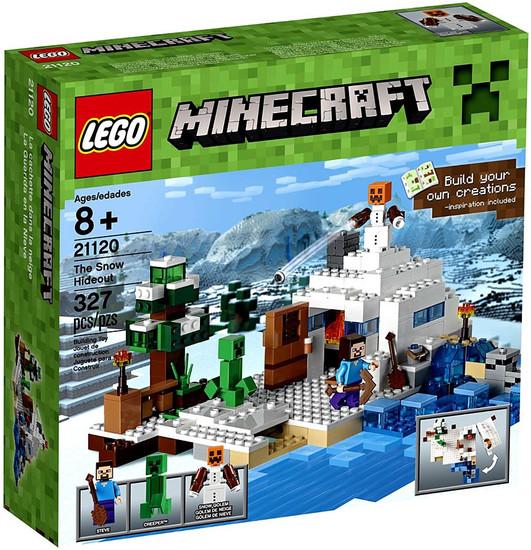 LEGO Minecraft The Snow Hideout Set #21120