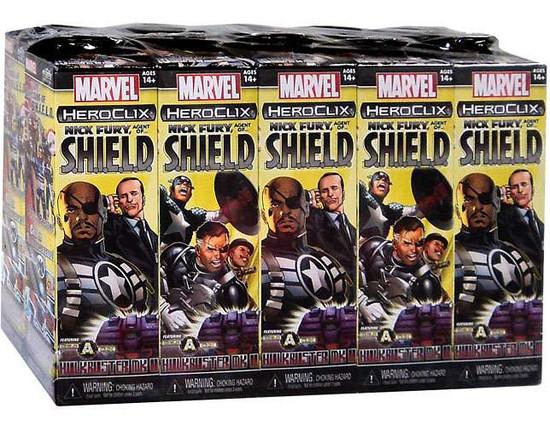 Marvel HeroClix Nick Fury, Agent of S.H.I.E.L.D Booster Brick [Hulkbuster Build a Clix]