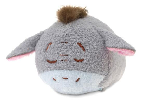 Disney Tsum Tsum Winnie the Pooh Eeyore 3.5-Inch Mini Plush