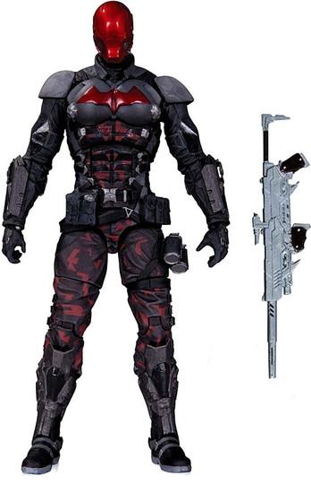 Batman Arkham Knight Red Hood Action Figure