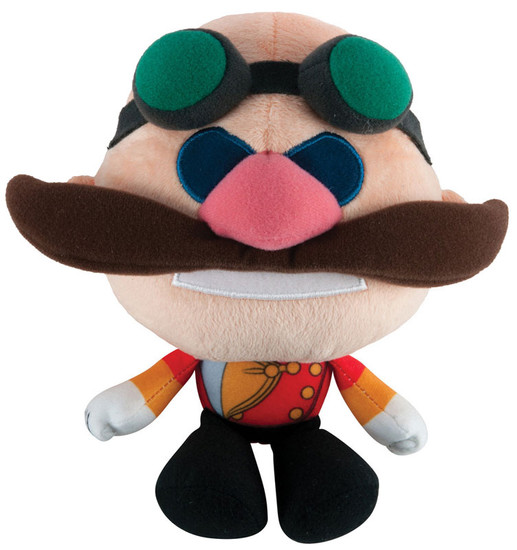 Sonic The Hedgehog Sonic Boom Dr. Eggman Super Deformed 6-Inch Plush