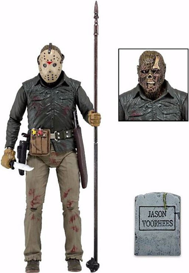 NECA Friday the 13th Part 6 Jason Lives Jason Voorhees Action Figure [Ultimate Version]