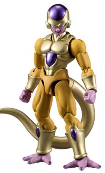 Dragon Ball Z Dragon Ball Super Shokugan Shodo Golden Frieza 3.75-Inch PVC Figure