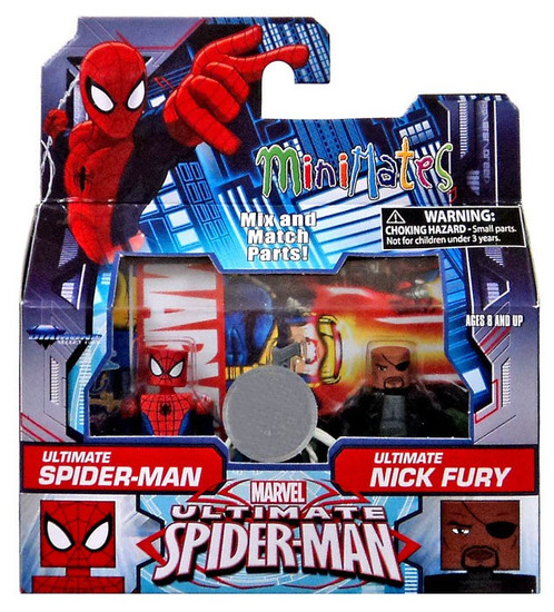 Ultimate Spider-Man & Ultimate Nick Fury Exclusive Minifigure 2-Pack