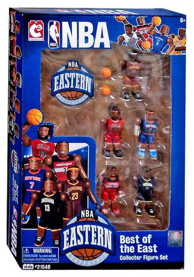 NBA C3 Construction Best of the East Minifigure 5-Pack [2015]