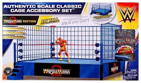 WWE Wrestling WrestleMania Cage Superstar Ring