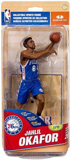 McFarlane Toys NBA Philadelphia 76ers Sports Picks Series 28 Jahlil Okafor Action Figure [Blue Jersey]