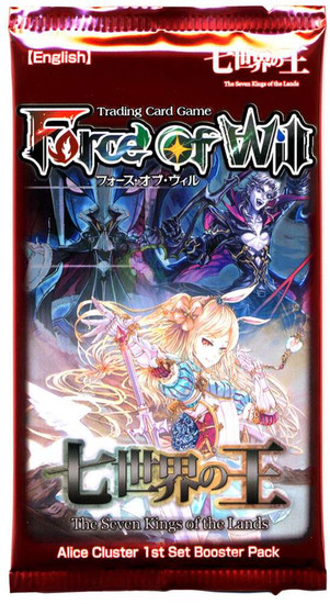 Force of Will Alice Cluster The Seven Kings of the Lands Booster Pack [10 Cards]