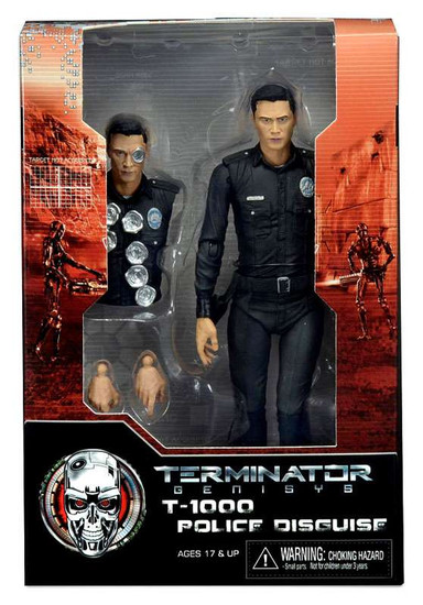 NECA Terminator Genisys T-1000 Police Disguise Action Figure