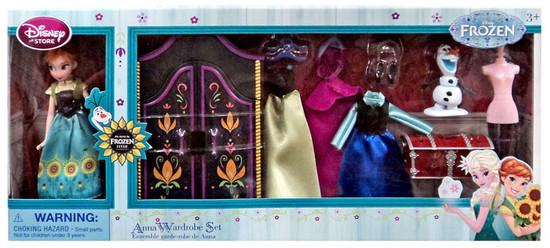 Disney Frozen Fever Anna Wardrobe 5.5-Inch Doll Playset