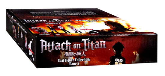 Real Figure Collection Wave 2 Attack on Titan Mystery Box
