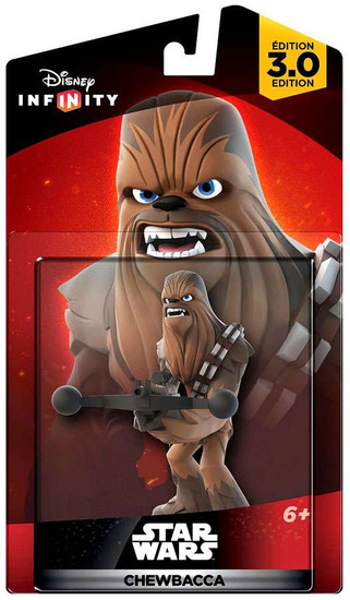 Disney Infinity Star Wars 3.0 Originals Chewbacca Game Figure