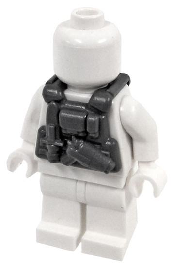 BrickArms Combat Vest PCV Commando 2.5-Inch [Dark Gray]