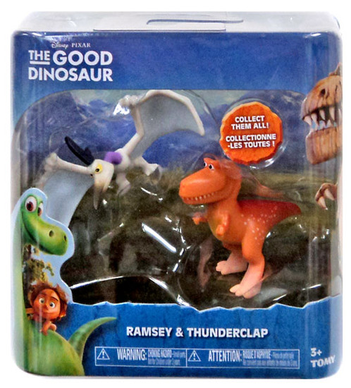 Disney The Good Dinosaur Ramsey & Thunderclap Mini Figure 2-Pack