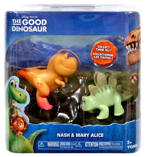 Disney The Good Dinosaur Nash & Mary Alice Mini Figure 2-Pack