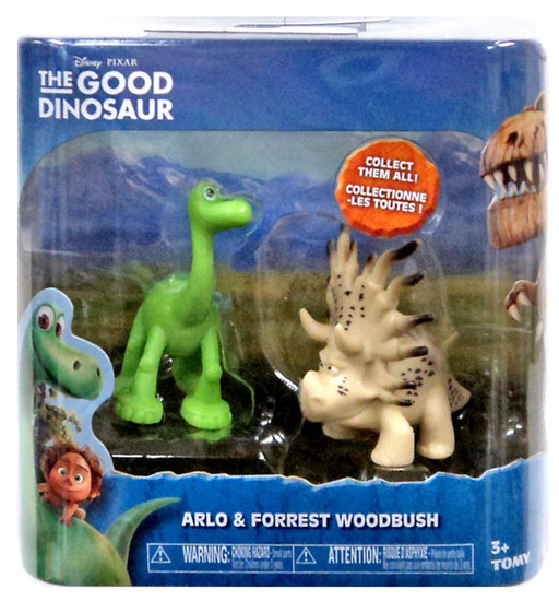 Disney The Good Dinosaur Arlo & Forrest Woodbush Mini Figure 2-Pack