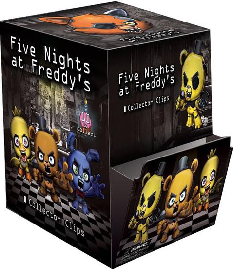 Five Nights at Freddy's FNAF Hangers Series 1 Mystery Box [24 Packs]