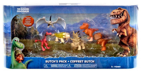 Disney The Good Dinosaur Butch's Exclusive Mini Figure 6-Pack [Ramsey, Butch, Lurleane, Jack, Forrest Woodbush & Thunderclap]