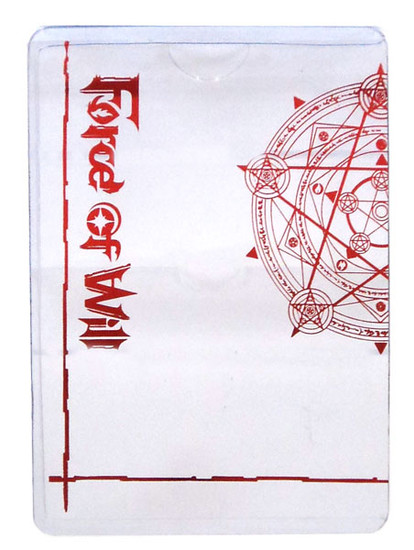 Force of Will Promo J-Ruler Protector Sleeve Accessory [Red]