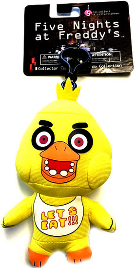 Five Nights at Freddy's Chica 4-Inch Plush Clip On