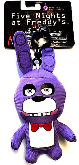 Five Nights at Freddy's Bonnie 4-Inch Plush Clip On