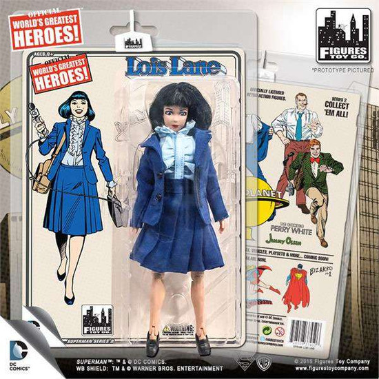 DC Superman World's Greatest Heroes! Series 2 Louis Lane Action Figure