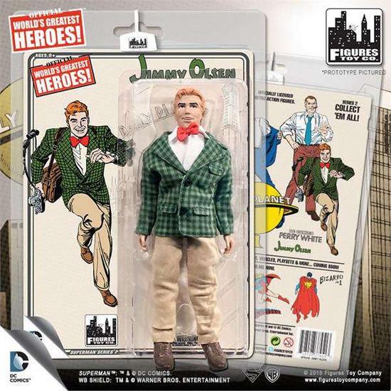 DC Superman World's Greatest Heroes! Series 2 Jimmy Olsen Action Figure