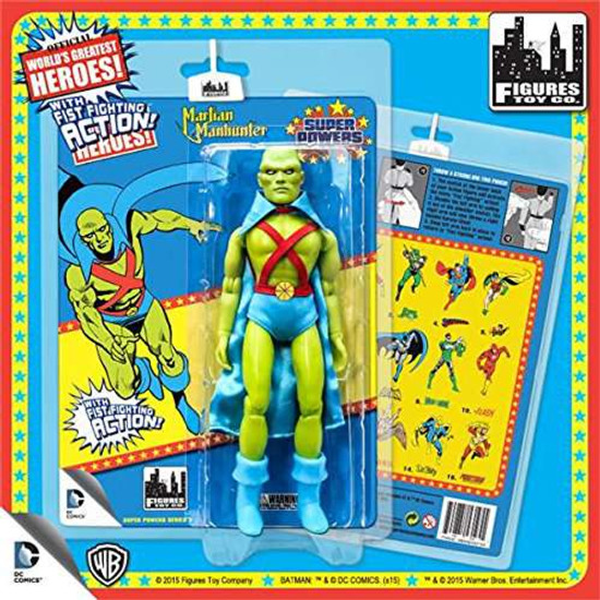 DC World's Greatest Heroes Super Powers Series 3 Martian Manhunter Action Figure