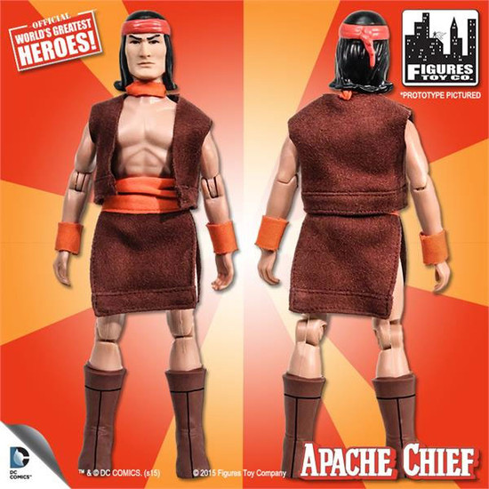 DC World's Greatest Heroes Super Friends Apache Chief Action Figure